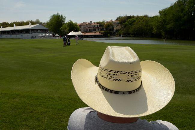 cowboy hat knife belt pga tour qualifier