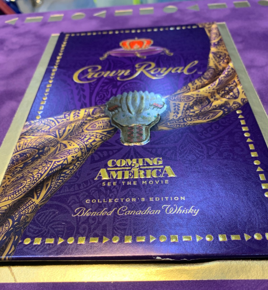 Coming 2 America x Crown Royal limited edition