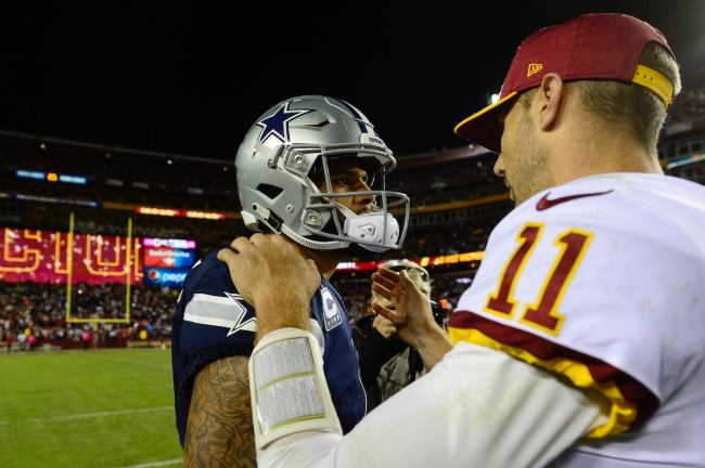 Following Dak Prescott's injury last NFL season, the Cowboys QB says Alex Smith supported him and provided inspiration to help keep him in good spirits