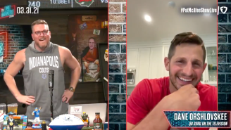 Dan Orlovsky Makes An Appearance On 'The Pat McAfee Show' Just Weeks After ESPN 'Banned' Employees From Doing So