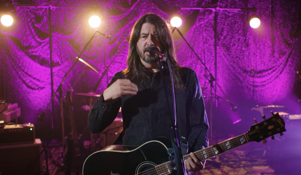 Dave Grohl tells story of writing Everlong
