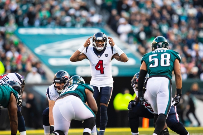 According to a recent report, Philadelphia Eagles GM Howie Roseman would 'give up everything' to acquire Deshaun Watson this NFL offseason