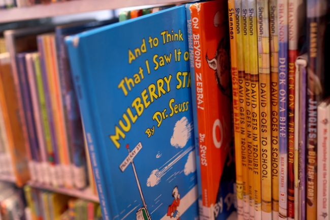dr seuss books top charts after being canceled