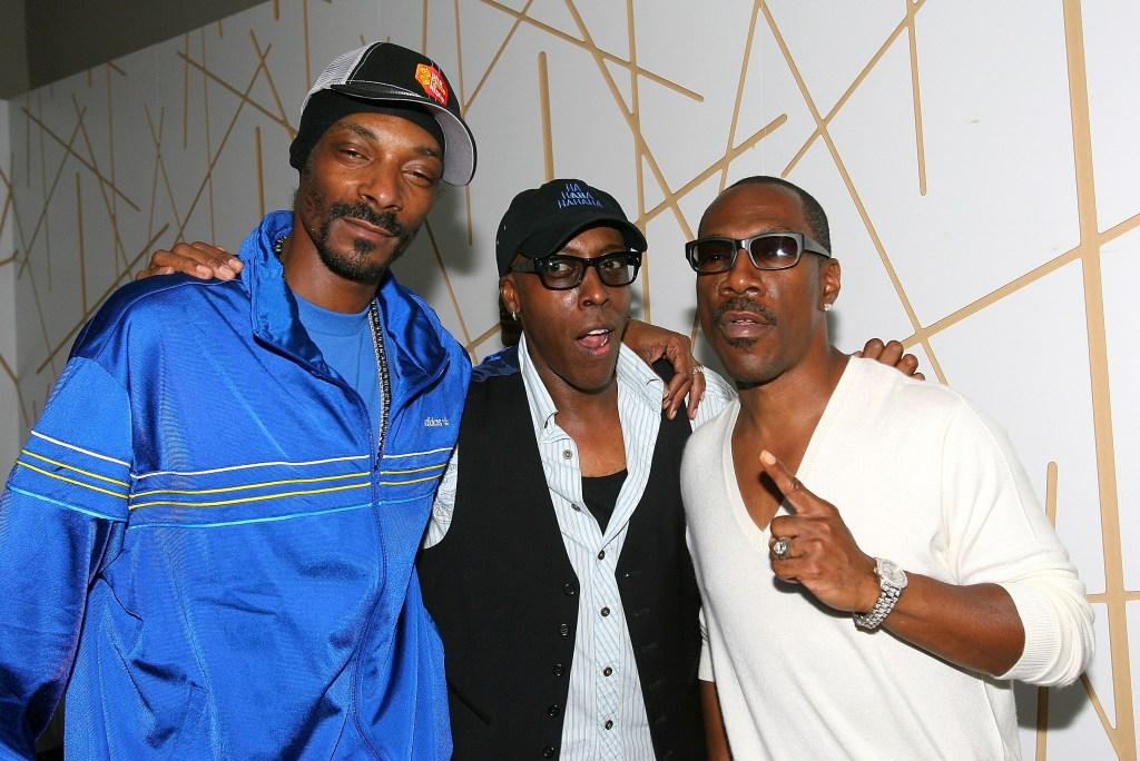 Eddie Murphy, Snoop Dogg, and Arsenio Hall