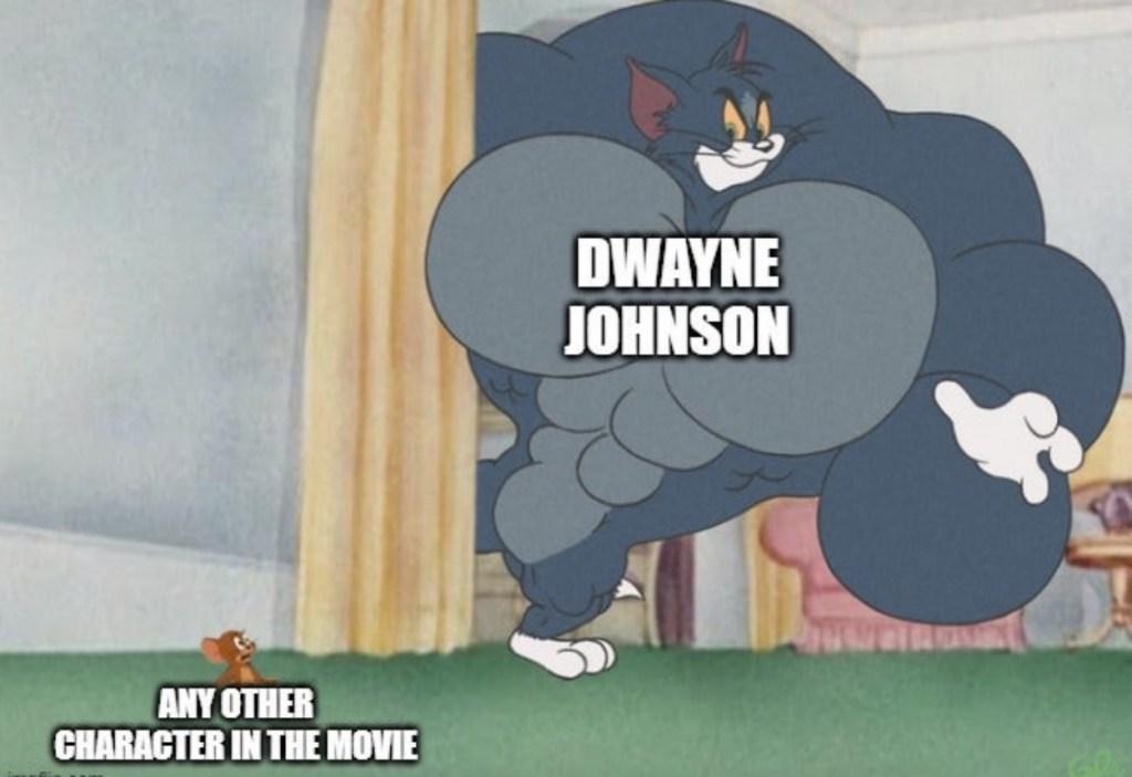 funniest daily memes Dwayne Johnson joke