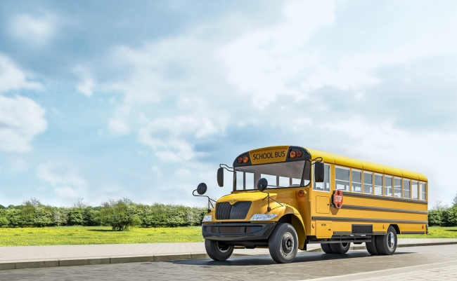 The reason why there are three black rails on the side of school buses revealed to be necessary for emergencies.