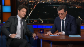 Jason Bateman Admits He Crapped His Pants In The 'Late Show' Dressing Room After Stephen Colbert Accuses Him Of Being A 'Hostile' Guest