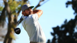 Jason Day Hits Tee Shot Into A Bird's Nest At The Arnold Palmer Invitational