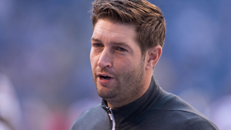 Jay Cutler Made A Fan Chug A Pitcher Of Beer Before Taking A Picture