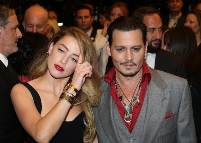 Johnny Depp's Venomous Text Message About Amber Heard Is Proof Old Flames Die Hard