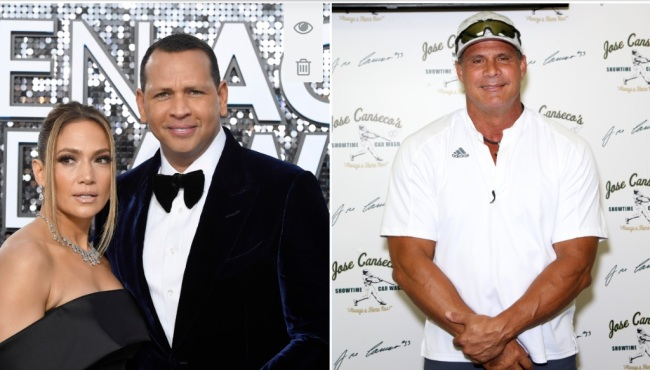 Jose Canseco Shoots His Shot At Jennifer Lopez After Her Break Up With Alex Rodriguez