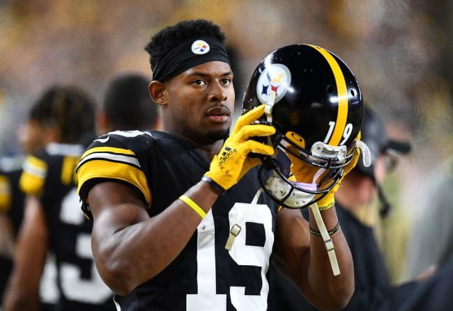 juju smith-schuster unlikely to sign steelers contract