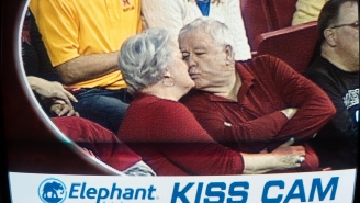 What Will Become Of The Kiss Cam, Sports' Last Great Universal Joy?
