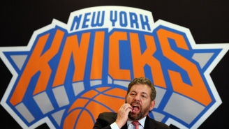 Would You Be Shocked To Hear A Knicks Fan Got Escorted Out Of MSG For Wearing A 'Ban Dolan' Shirt, Or Nah?