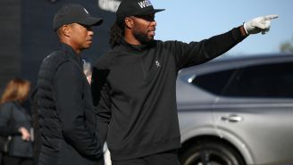 Larry Fitzgerald Explains Why Tiger Woods Is Responsible For Turning Him Into A Golf Addict