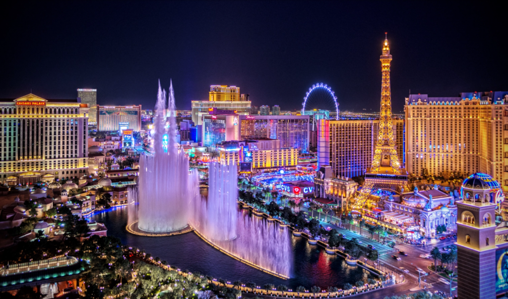 best party cities in the world Las Vegas