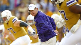 Les Miles Accused Of Inappropriate Relations At LSU In 2013, Was Reportedly Banned From Contacting Females