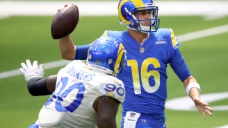 Michael Brockers' Comments About Jared Goff's Ability Sure Look Awkward Now That They're Teammates On Lions