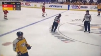 NHL Referee Busted On Hot Mic Admitting To Calling Bogus Penalty On Purpose To Screw The Nashville Predators