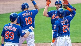 The Mets Practicing How To Celebrate Winning The World Series At Spring Training Is Both Pathetic And Awesome