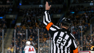 An NHL Ref Getting Fired After Admitting To A Make-Up Call On A Hot Mic Is The Ultimate Overreaction