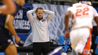 Oral Roberts Basketball Coach Paul Mills Describes Wild Story About Nearly Fighting Kevin Bacon In Barbershop