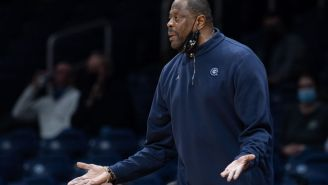 Patrick Ewing Keeps Getting Stopped By Security At Madison Square Garden Because Nobody Recognizes Him