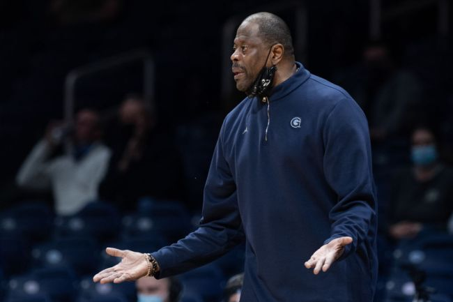 patrick ewing not recognized madison square garden