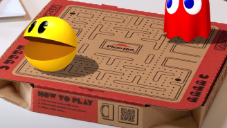 You Can Now Play Pac-Man On A Pizza Box Courtesy Of Pizza Hut