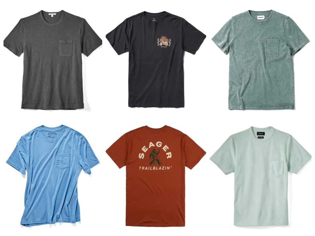 premium men's t-shirts for Spring and Summer 2021