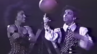 Unearthed Clip Of Prince Playing Basketball During A Concert Proves Why He Beat Charlie Murphy