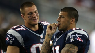 Rob Gronkowski Reflects On Aaron Hernandez, Admitting He Was 'Shook' By Former Teammate's Actions