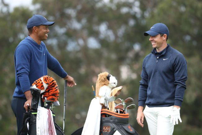 rory mcilroy tiger woods accident leaving hospital
