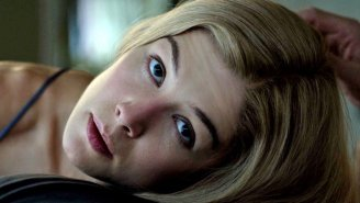 Brilliant Actress And Possible Crazy Person Rosamund Pike Buries Her Awards In Her Backyard
