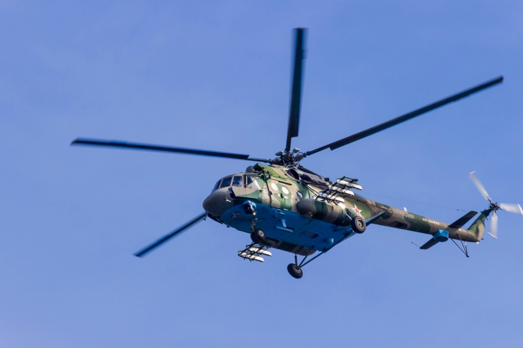 russian Mil Mi-8 Hip helicopter