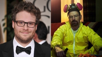 Seth Rogen Got So Uncomfortably High At A Golden Globes Afterparty, Walter White Showed Empathy