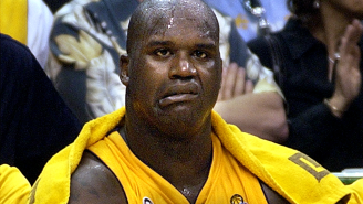 Shaq's First IcyHot Experience Led To An Emergency Milk Shower In The Middle Of A Game