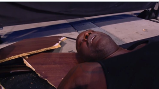 Shaq Gets Slammed Through Two Tables On AEW And It Was Amazing