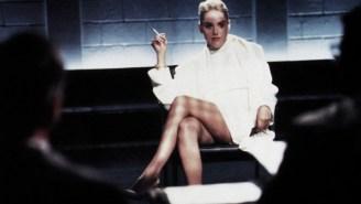 Sharon Stone Says 'Basic Instinct' Director Tricked Her Into Filming Infamous Leg-Cross Scene