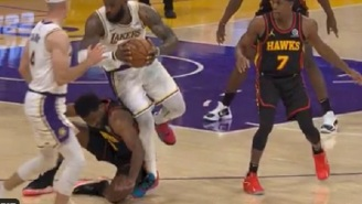 Lakers Fans Are Accusing Hawks' Solomon Hill Of Injuring LeBron James With Dirty Play