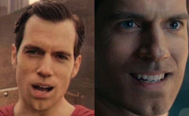 superman mouth justice league 2017