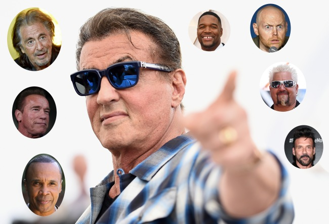 Sylvester Stallone's Dude Night At His Mansion In 2019 Sounded Like The Final Boss Of Dude Nights