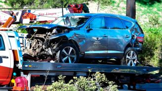 Tiger Woods Was Reportedly Driving 83 MPH In 45 MPH Zone At Time Of Crash