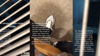TikToker Finds Hidden Room Behind Vent At Airbnb After 'Feeling Like He Was Being Watched'