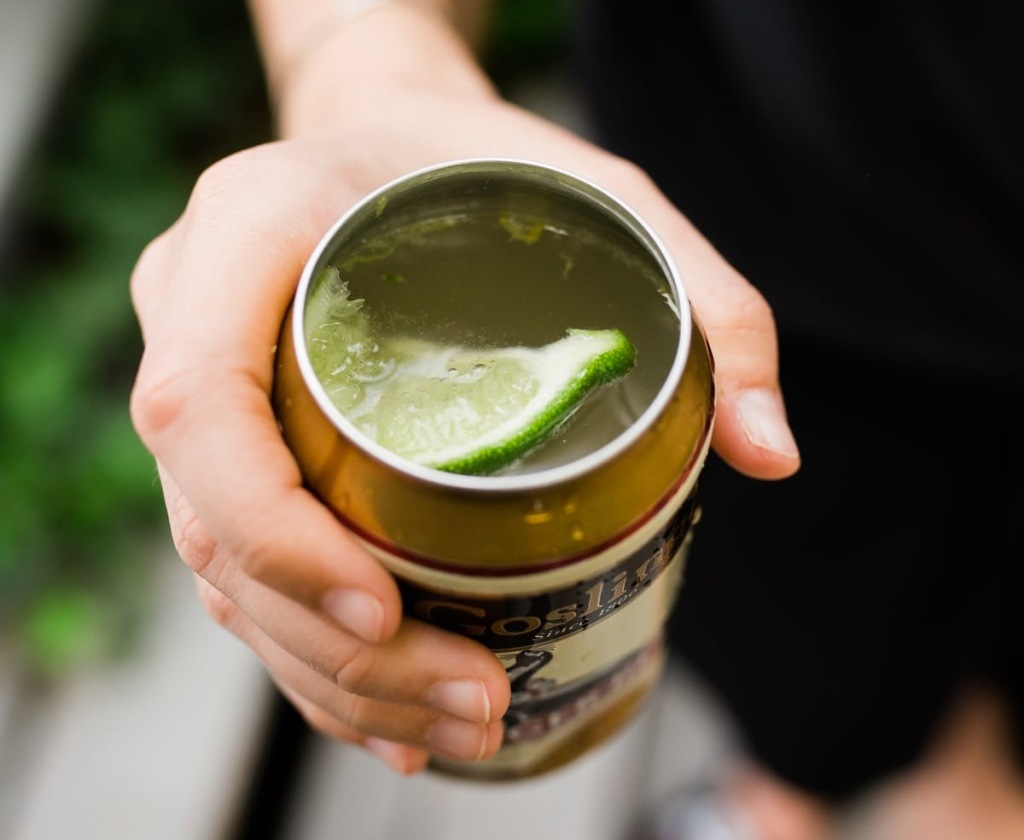 tool turns beer cans into cups