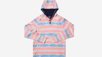 Rhone's Limited Edition Printed Bolinas Beach Poncho Is A Spring Vibe