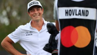 Viktor Hovland Took A 2-Shot Penalty At The Players Thanks To His Mom