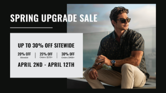 Vincero Watches Is Offering Up To 30% OFF Sitewide From 4/2 – 4/12