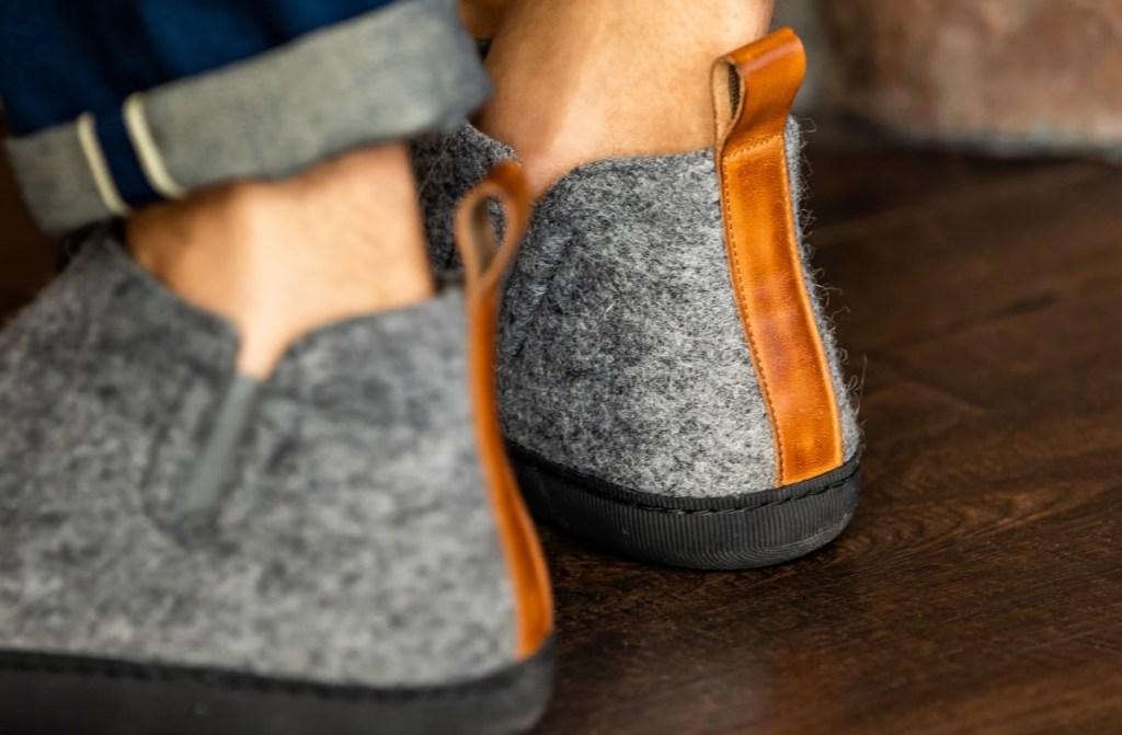 Greys Wool Outdoor Slipper Boots