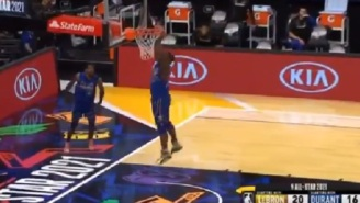 NBA Fans Roast Zion Williamson For Embarrassingly Missing Wide Open Dunk During NBA All-Star Game